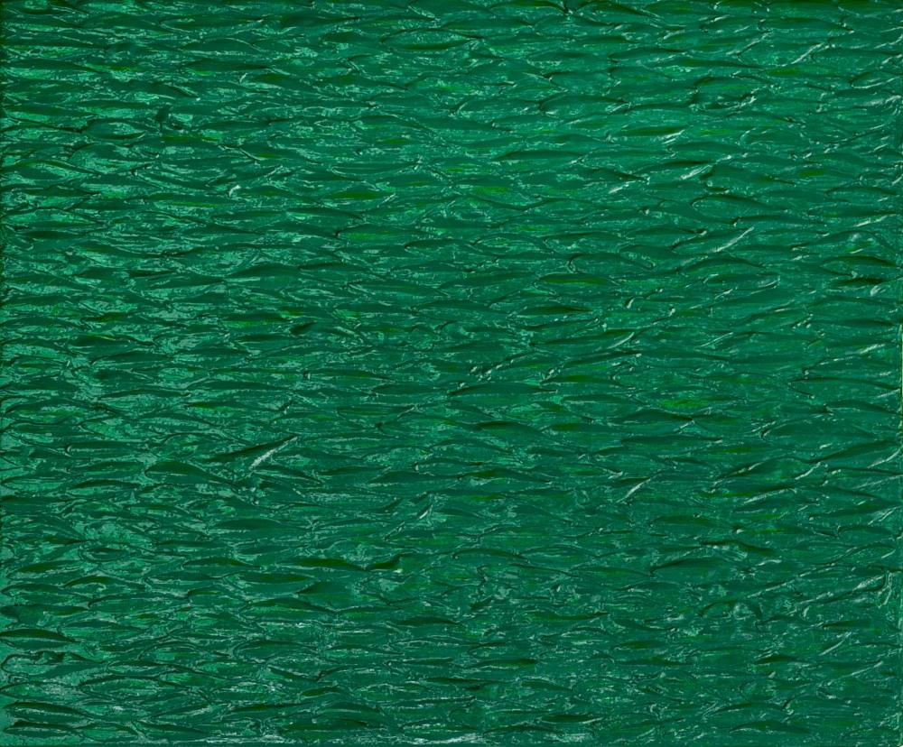 Green still life - 50x60 cm