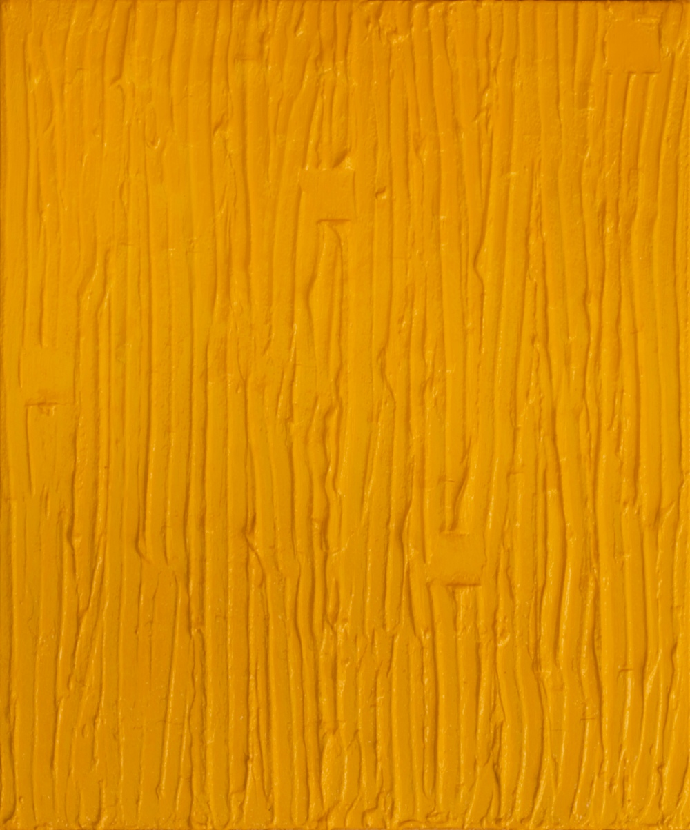Yellow rain - 60x50 cm